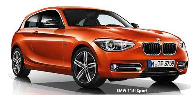 BMW 1 Series 3-door 116i 3-door M Sport  http://www.cars4sa.co.za/new-cars/BMW