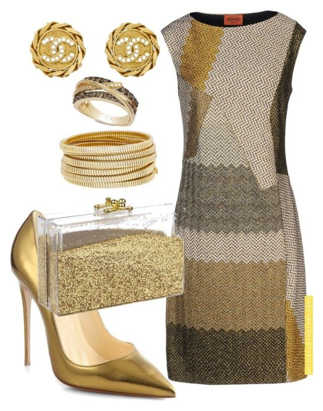 """""""The Fashionistas CLUB"""" by kemiakinajayi on Polyvore featuring Missoni, Bagutta, LE VIAN and Chanel"""