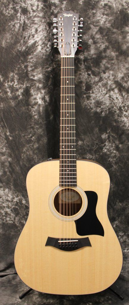 2017 Taylor 150e Dreadnought 12-String Acoustic-Electric Guitar Natural w/Gigbag