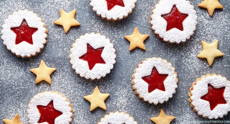 Omas Spitzbuben-Rezept ist ein Klassiker der Weihnachtsbäckerei - die Terrassenplätzchen mit Marmelade gelingen auch Backanfängern.