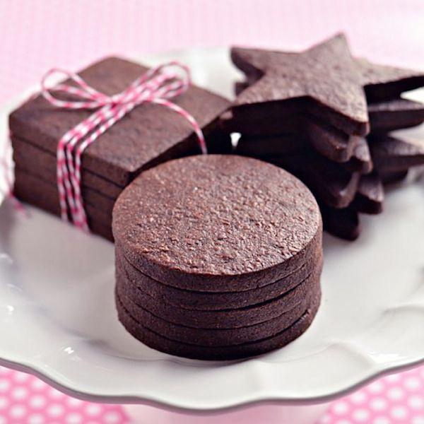 The Perfect Dark Chocolate Sugar Cookie - My Honeys Place