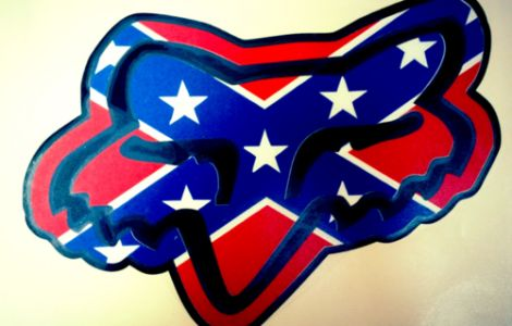 rebel flag fox racing tattoos
