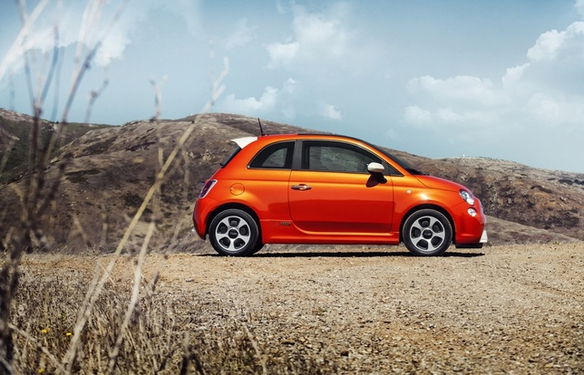 Oh, Like! The new electric car by Fiat, the 500e!