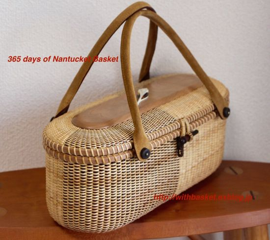 Two-tone Basketの画像:365 DAYS of NANTUCKET BASKET