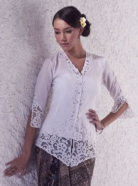 Beautiful handmade Balinese Lace. <3 this so much. The rayon fabric suits Indonesia/ any tropical weather