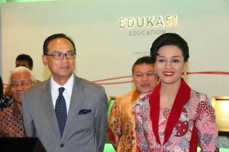 Kiki Widyasari Dewi dalam kegiatan BEI - Kadin