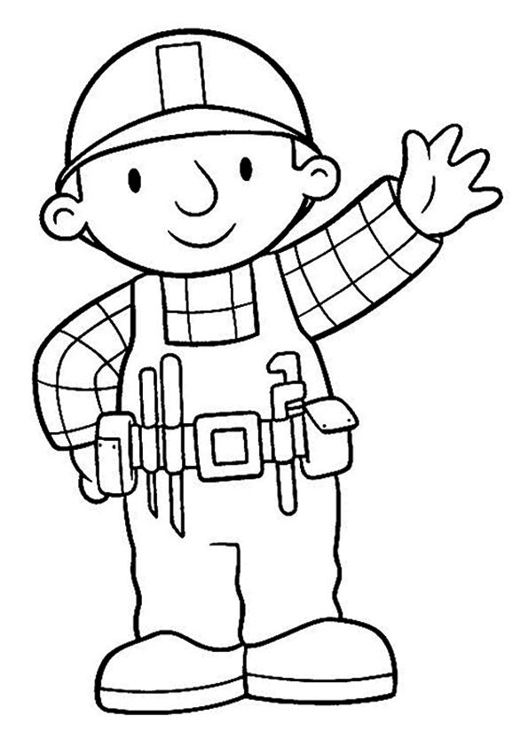 23 best bob the builder coloring pages images on pinterest