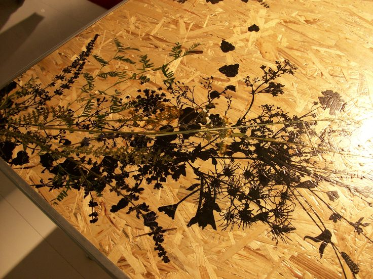 wood and art - #table #wood #flowers