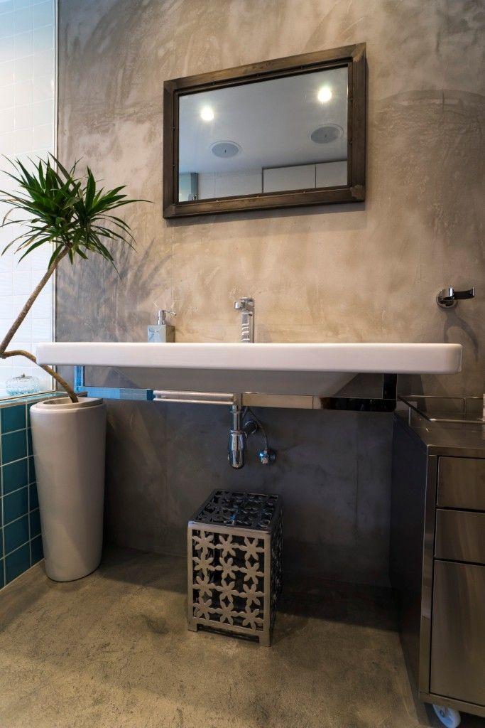 トイレ/バス事例:サニタリー(ヨーロピアンとオリエンタル、モダンが融合した、高級感あるラウンジのような空間)