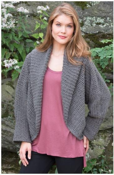 Totally Warm Crochet Jacket Pattern - extremely cozy