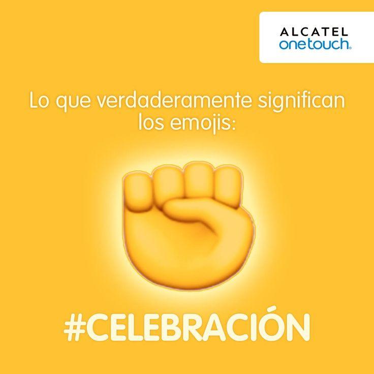 ¿Sabías que este emoji se utiliza como un gesto para celebrar? #DiloConEmojis