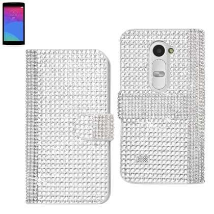 Diamond Flip Case for LG LEON | Paper, Other and Leon