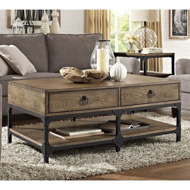 Crosley Furniture Trenton Coffee Table, Coffee Walmart