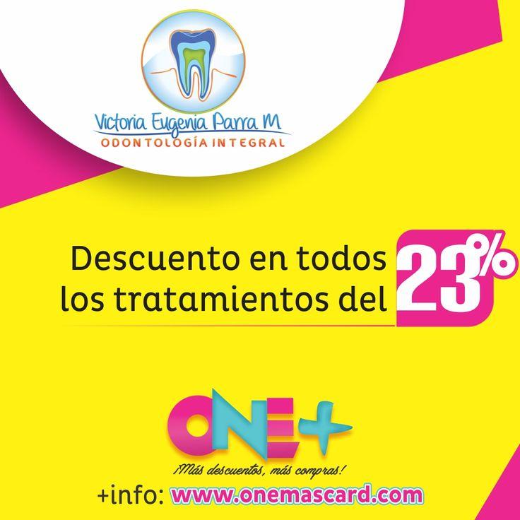 Victoria Eugenia Parra M. Odontología Integral, Descuento del 23%