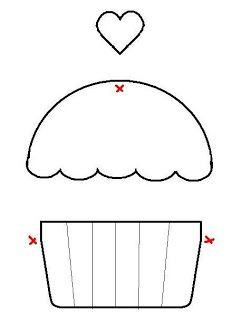 Cupcake Craze: Cupcake Applique Ideas | Wee Share
