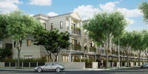 Dự án Nine South Estates có những đường nét cổ kính mà sang trọng
