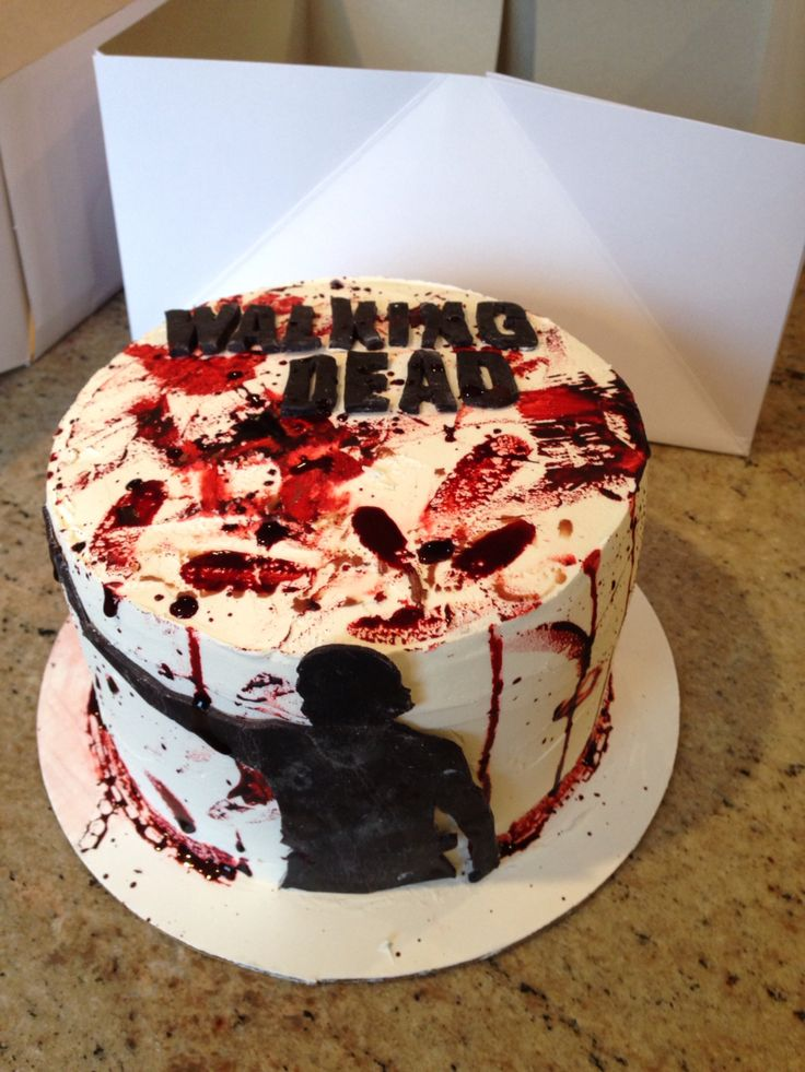 walking dead birthday cake 72 best images about time on walking 8345