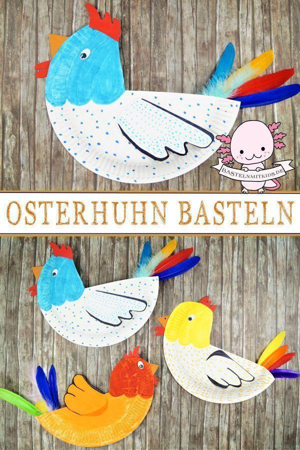 Huhn basteln – Basteln mit Kids – #basteln #Huhn #kids #mit – #basteln #Huhn –