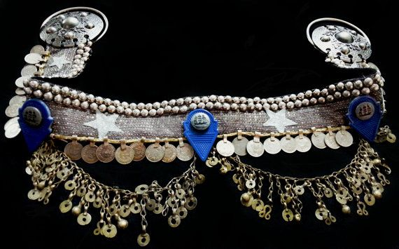 Sailing on Shimmies ~ Elusive & Exclusive Series Tribal Fusion Belly Dance Belt