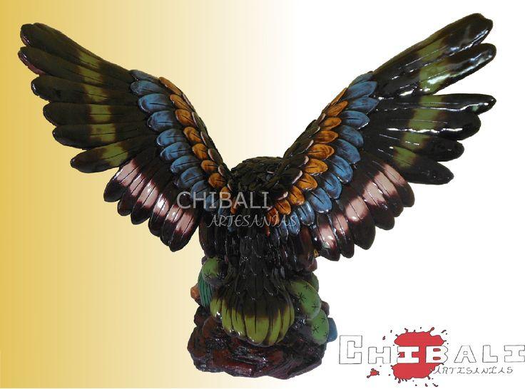 DEMES-ÁGU01  Ancho: 38 cm Alto: 36 cm Lado: 20 cm  No hay mejor combinación de colores que las que tienen las piezas de #CHIBALI ARTESANÍAS.
