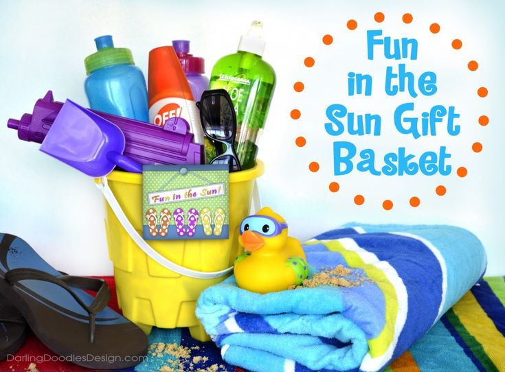 78 best vacation gift basket images on Pinterest | Vacation gift ...
