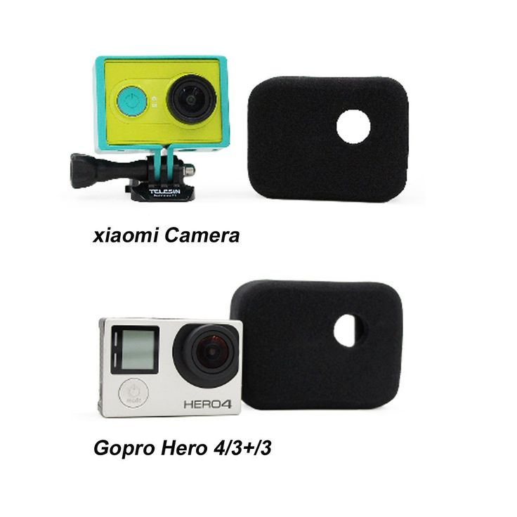 UltimaFio(TM) 2Pcs Foam Anti Wind Windshield Windproof Case Cover For Gopro Hero HD 3 3  4 Camera OS419 >>> Visit the image link more details.