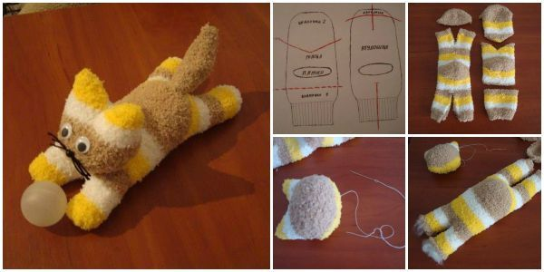 DIY Sock Kittens – Free Pattern