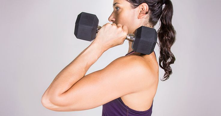 Good for more than biceps curls, those weights can work your entire body in a compact space.