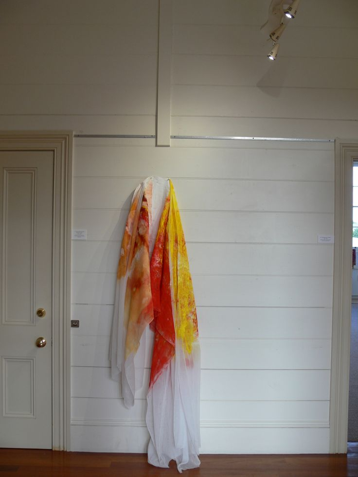 'Warm Yellow and Warm Red makes Orange', Dancing with the Conventions of Painting, Exhibition by Lisa Corston-Buddle, June 2013