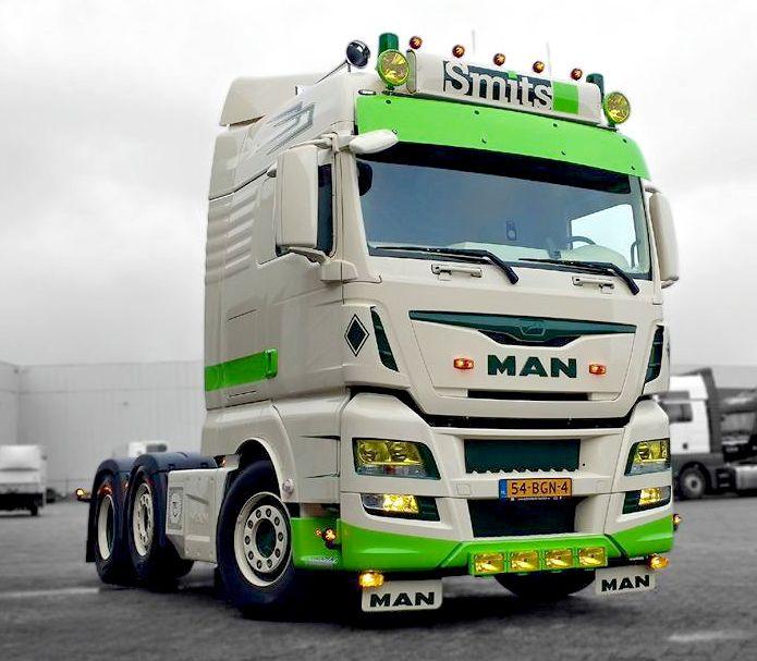 Jerrys Ford Alexandria >> Fraaie MAN TGX XLX voor Smits Zevenhuizen | Trucks Man ...