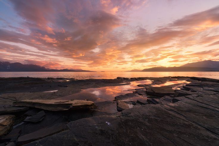 Sunset in Steinsvika by Tor-Ivar Næss on 500px