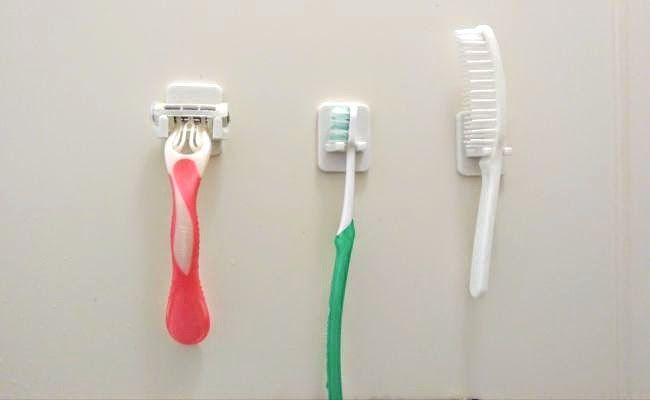 100均 Seriaで見つけたマグネットホルダーでお風呂を楽しく ベビーカレンダーのベビーニュース ホルダー 歯ブラシホルダー マグネット