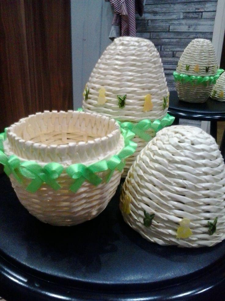 Jajko z wikliny papierowej