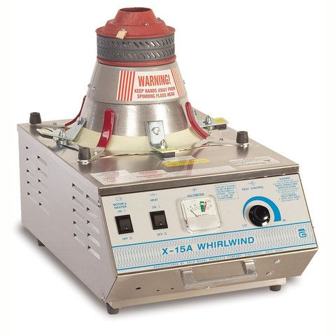 Gold Medal 'X-15 Whirlwind' GM #3015ex Candy Floss Machine