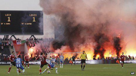 Poland's Football Hooligans