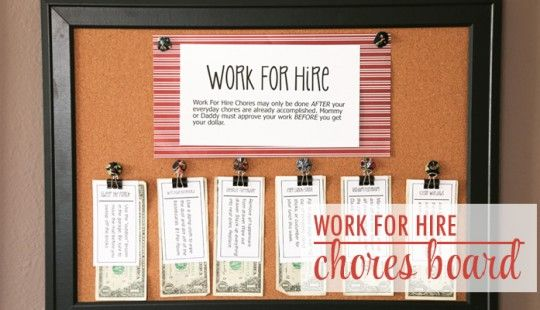 Work For Hire Chores