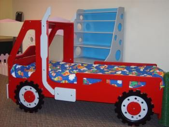 Kids Tow Truck Bed: Bunk Bed