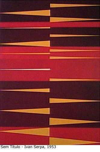Sem Titulo (1953) | Ivan Serpa (1923 - 1973) | Brazilian post-war avant-garde painter. http://2.bp.blogspot.com/-gyJ-Rch-Z8Q/ThzFjD3joRI/AAAAAAAAAKQ/Vt7DWj3sESw/s1600/arte_ivanserpa_semtitulo1953.jpg