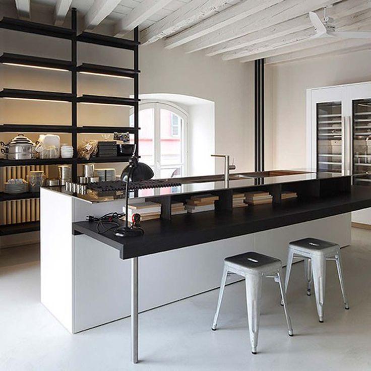 Aprile White kitchen design ideas ~ http://www.lookmyhomes.com/white-kitchen-design-ideas-10-best-photos/