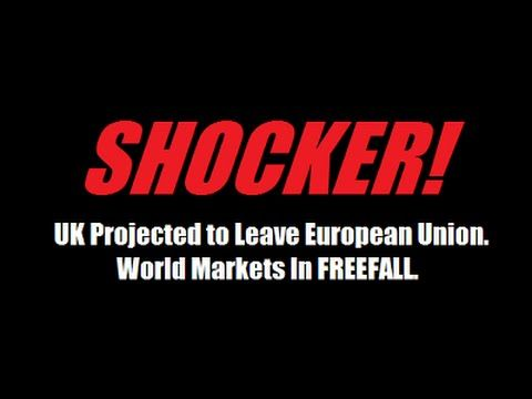 CRITICAL ALERT! World Stock Markets Are In FREEFALL. By Gregory Mannarino