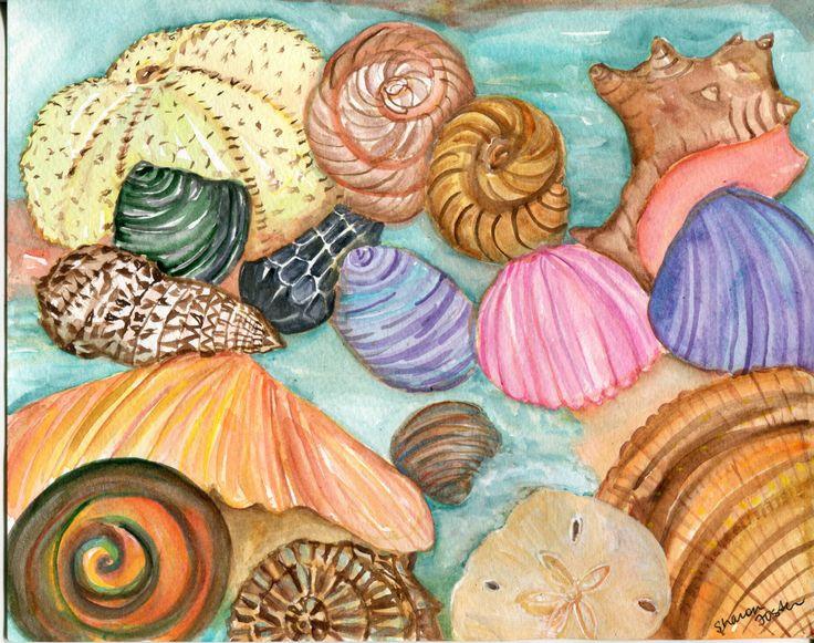 Best 25 Seashell painting ideas on Pinterest