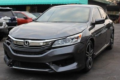 eBay: 2016 Honda Accord Sport 4dr Sedan CVT 2016 Honda Accord Sport Runs #carparts #carrepair