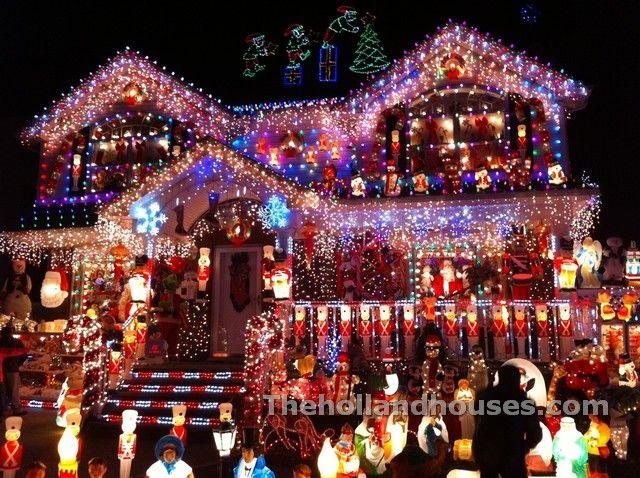 Xmas Decorated Houses | Home Decor / Design | Pinterest | Christmas ...