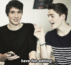 (gif) danisnotonfire and Jack Harries