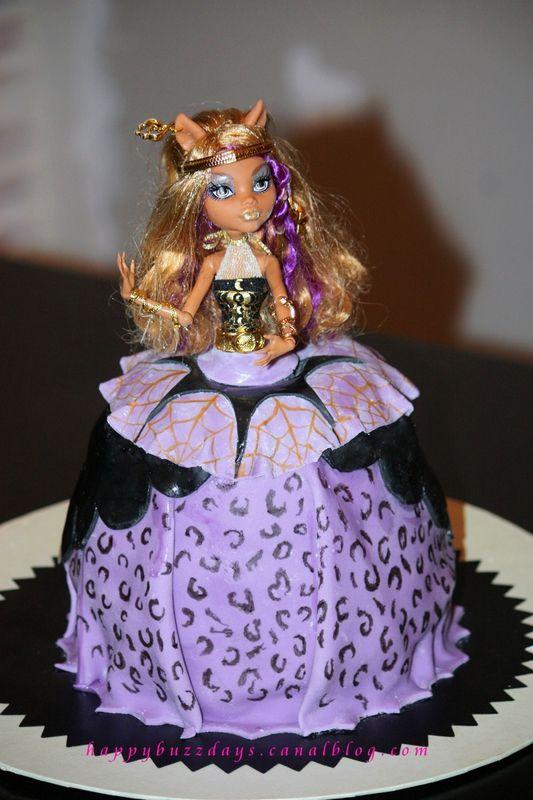 Wolf With Birthday Cake
