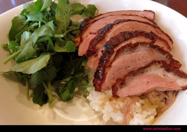 Rotisserie Duck Over Rice in Momofuku Ssäm Bar | Food | Pinterest ...