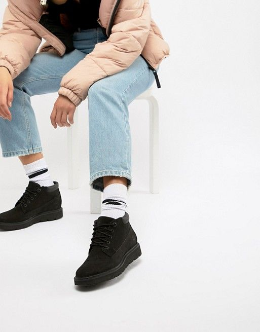 11152dabc27 Timberland Kenniston Nellie Black Leather Ankle Boots   Crep Game ...