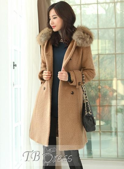 Carefree Korean Style Double Breasted Coat
