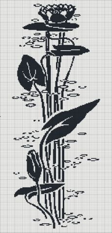 Филейное вязание. Вышивка монохром. Схемы / Вязание крючком / Женская одежда крючком. Схемы.