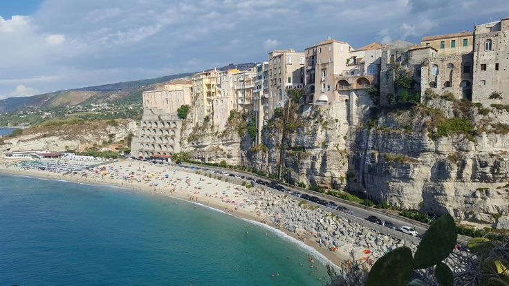 Beautiful beach of Tropea, Italy! View from above #summer #tan #dolcevita